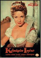 """Illustrierte Film-Bühne  -  """"Königin Luise"""" -  Mit Ruth Leuwerik  -  Filmprogramm Nr. 3630 Von Ca. 1957 - Zeitschriften"""