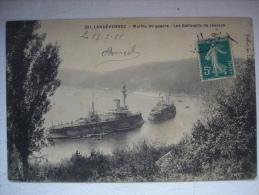 FINISTERE LANDEVENEC MARINE DE GUERRE BATIMENTS DE RESERVE - France