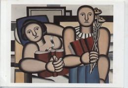 Fernand Léger: La Lecture Non-circulée Unused - Peintures & Tableaux
