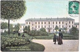 71. CHALON-SUR-SAONE. Collège De Jeunes Filles. 2978 - Chalon Sur Saone