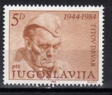 Yugoslavia,Birthday Of Tito 1984.,MNH - 1945-1992 Socialist Federal Republic Of Yugoslavia