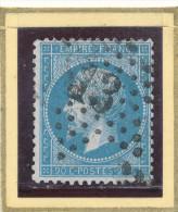 N°22 ETOILE DE PARIS CHIFFRE 13 - 1862 Napoléon III