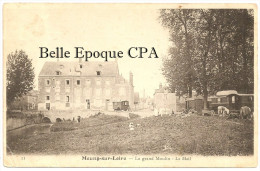 45 - MEUNG-sur-LOIRE - Le Grand Moulin - Le Mail / CAMPEMENT De GITANS +++ Lance, #11 +++ Vers Olivet, 1905 +++ RARE - Other Municipalities