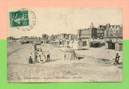 CPA  FRANCE  62  ~  BERCK-PLAGE  ~  30  La Plage Et L´Eden-Casino  ( ND 1912 )  Animée - Berck