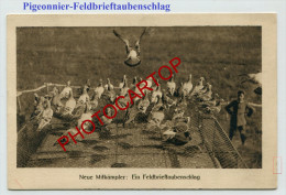 PIGEONS VOYAGEURS-FELDBRIEFTAUBENSCHLAG-Carte Allemande-Guerre14-18-1WK-Militaria-Feldpost BRÜSSEL-Belgien- - Belgique