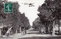 Batna Verdure Tres Animée Route De Biskra 1912 - Batna