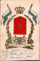 ! Regimentskarte Metz 1907 , K�niglich Bayerisches 4. Infanterie-Regiment, Militaria
