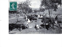 Batna Un Coin Du Marché Arabe Top Tres Animée 1912 - Batna