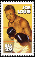 USA 1993 Joe Louis Stamp Sc#2766 Famous Boxing Sport - Jobs