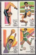 United States    Scott No.  C101-4    Mnh   Block    Year  1983 - Verenigde Staten