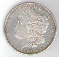 U.S.A. - STATI UNITI D´ AMERICA - 1 DOLLAR ( 1878 - S ) MORGAN - AG / SILVER - 1878-1921: Morgan