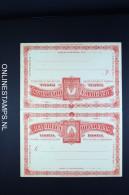 Honduras: Carte Postale Avec Réponse Payée   C Red Not Used - Honduras