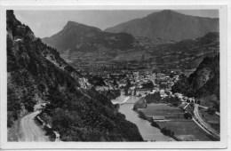 74 -  CLUSES - VUE PANORAMIQUE - ROUTE DE NANCY SUR CLUSES -POINTE D´ ARCHEX ET POINTE DE MARCELLY - France