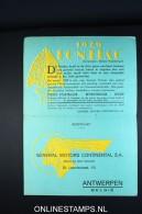 Belgium: 1929 Pontiac  General Moters Incl Answer Card Introducing Ne Model RRR