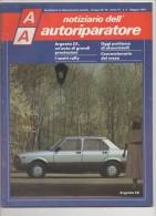 """03069  """"AA NOTIZIARIO DELL´AUTORIPARATORE - ARGENTA - CAMPAGNOLA - REGATA"""". PERIODICO MAGGIO 1984 - Motori"""