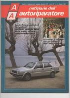"""03071  """"AA NOTIZIARIO DELL´AUTORIPARATORE - RITMO - LANCIA PRISMA - PANDA - AUTOBIANCHI Y10 """". PERIODICO GIUGNO 1985 - Motori"""