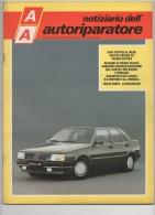 """03073  """"AA NOTIZIARIO DELL´AUTORIPARATORE - CROMA SX  - PANDA ELETTRA - LANCIA THEMA """". PERIODICO MARZO 1990 - Motori"""