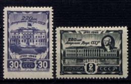 Russia 1945 Unif. 983/84 **/MNH VF/F - 1923-1991 URSS