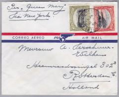 TRINIDAD & TOBAGO 1918-03-04 Flugpost Brief Nach Rotterdam - Trinité & Tobago (1962-...)