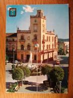 Carte Postale Espagne Vall De Uxo Hotel De Ville Oblitérée 1965 - Espagne