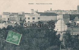 SOUSSE - PLACE PICHON ET LA VILLE - Túnez