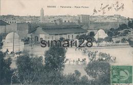 SOUSSE - PANORAMA - PLACE PICHON - Túnez