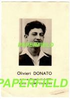 Pieux souvenir Olivieri DONATO - BISENTI 1928 - FRAMERIES 1949 - Accident de charbonnages