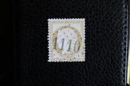 Timbre Poste 15c Cérès Gros Chiffre Oblitéré GC 1110 Conflans Sur Lanterne Haute-Saône (69) - 1871-1875 Ceres