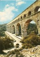 30. CPM. Gard. Le Pont Du Gard. Aqueduc Romain - Frankreich