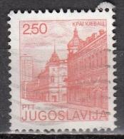 Jugoslavia, 1980/81 - 2.50d Kragujevac - Nr.1487 Usato° - Gebruikt