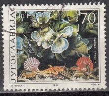 Jugoslavia, 1985 - 70d Padina Pavonia - Nr.1751 Usato° - Gebruikt
