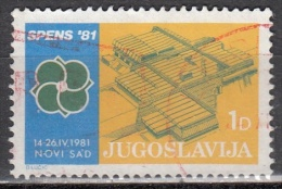Jugoslavia, 1980 - 1d SPENS '81 - Nr.RA66 Usato° - Gebruikt