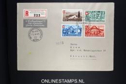 Switserland 1945 Pro Patria R-FDC Mi Nr 460-463, Zum 26 - 29 PP, Rare Cover - FDC