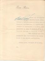 Peron, Eva (1919-1952) Rare signature DESIGNACION  Maria Eva Duarte de Per�n was the second wife of Argentine Presi