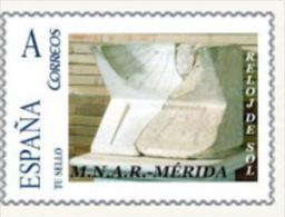 "Spain 2010– España ""Tu Sello"". Sello Personalizado De Reloj De Sol Romano De Mérida - Scultura"