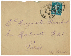 FRANCIA - France - 1922 - 25 - Viaggiata Da Bourg En Bresse Per Paris, France - Storia Postale