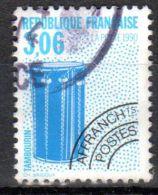 1990, France Préoblitéré, Tambour YT No. 208, Oblitété, Lot 43073 - Musik