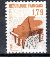 1989, France Préoblitéré, Piano YT No. 203, Oblitété, Lot 43074 - Musik