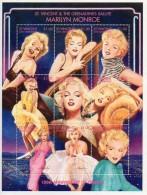 St Vincent & The Grenadines Marilyn Monroe - 100 Th Anniversary Cinema 2 - Cinema
