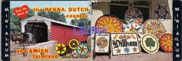 MINI ALBUM De PENNSYLVANIE - The PENNA.DUTCH Country And AMISH Farmland - 10 Vues - 10x7cm - Lancaster