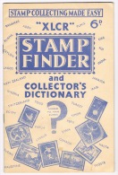 RB 1019 -  XLCR Stamp Finder - Stamp Collecting Made Easy - 32 Page Booklet Essential Find Countries Of Obscure Stamps - Books, Magazines, Comics