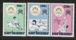 DG7725. SURINAM ** NEUFS, MNH. 1987 SERIE COMPLETE.