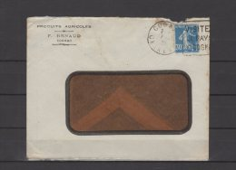 "16 - Cognac - F. Renaud - Produits Agricoles - "" Sucralta ""  - 1925 - Postmark Collection (Covers)"