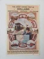 Pk/cp Noordhollandsche Tram Wegmaatschappij Amsterdam Marken Volendam - Tramways