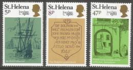St Helena. 1980 London 1980 International Stamp Exhibition. MH Complete Set. SG 362-364 - Saint Helena Island