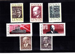 EXTRA-23 POLAND 7 STAMPS.