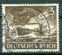 Deutsches Reich 1943 Mi. 831 gest. U-Boot TGST Schwerin 1943