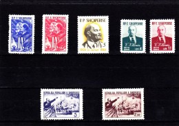EXTRA-29 ALBANIA 7 STAMPS. MNH **.