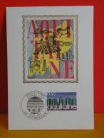 FDC- Carte Maxi, Aquitaine  - 33 Bordeaux - 22.5.1976 - 1er Jour, Coté 1,50 € - Maximumkarten