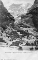 CPA - SUISSE - GRINDENWALD - Dorf Und Unterer Gletscher Und Viescherhörner - BE Berne